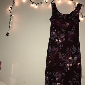 """Nice floral dress.  The brand """"All That Jazz"""""""